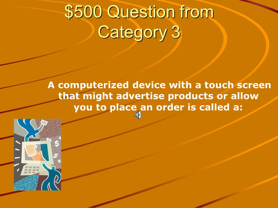 $400 Answer from Category 3 Communications