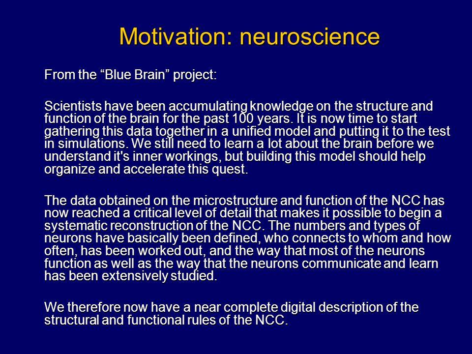 Scheme of the brain...