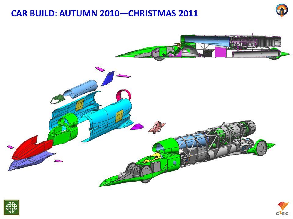 CAR BUILD: AUTUMN 2010―CHRISTMAS 2011