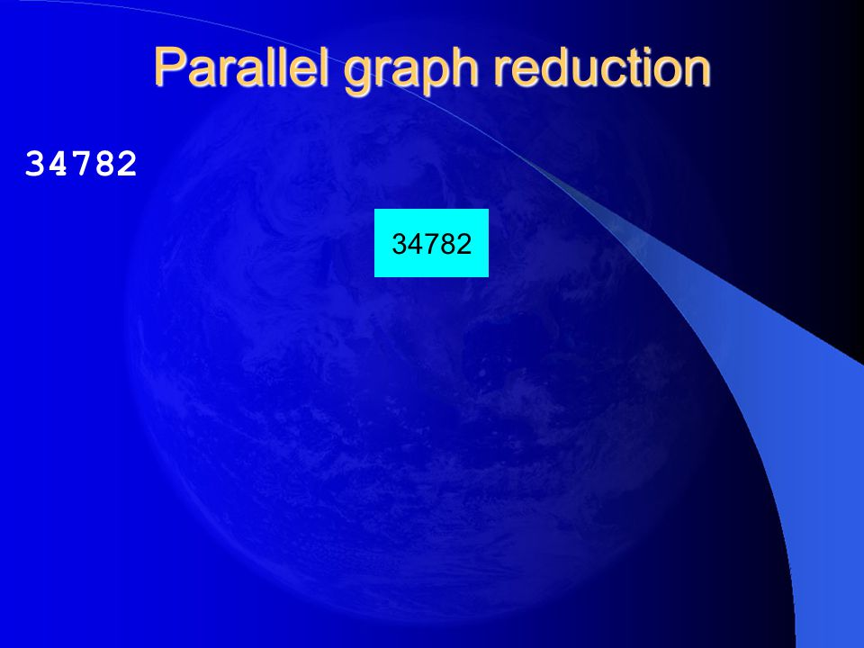 Parallel graph reduction 34782