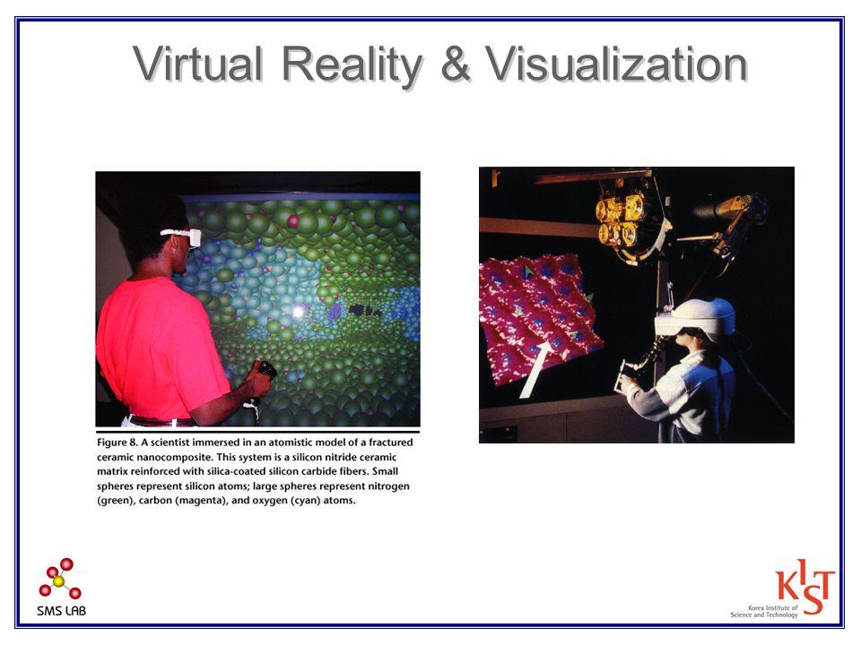 Virtual Reality & Visualization