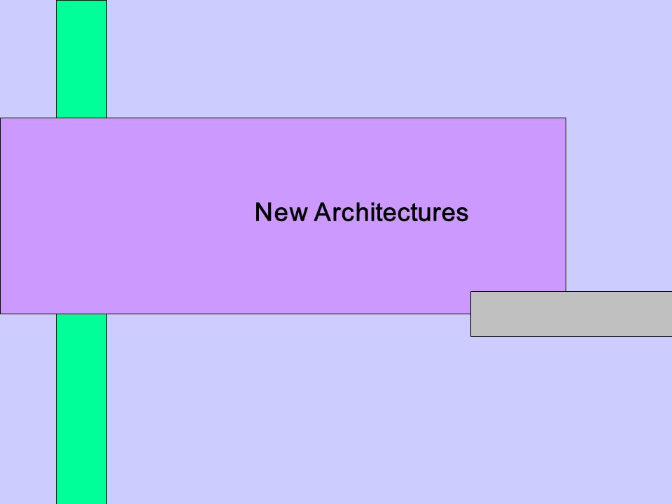 *** New Architectures