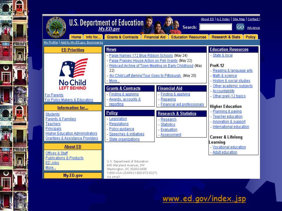 www.ed.gov/index.jsp
