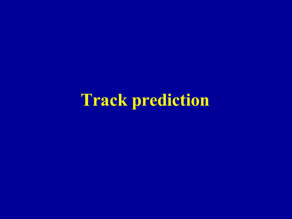 Track prediction