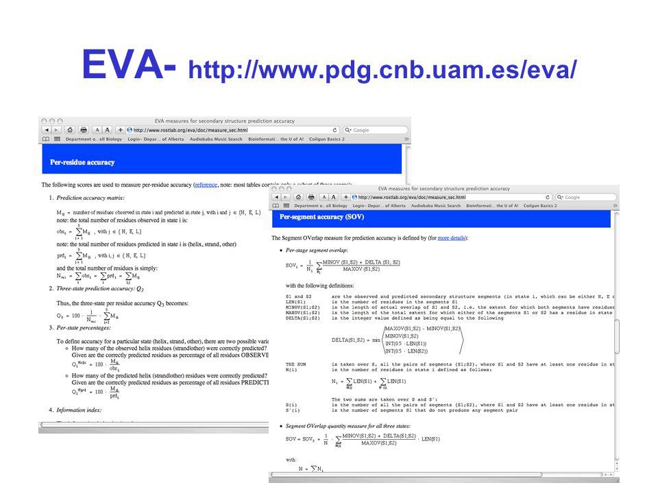 EVA- http://www.pdg.cnb.uam.es/eva/