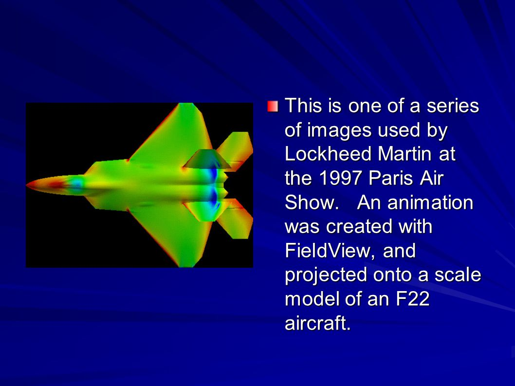 This is one of a series of images used by Lockheed Martin at the 1997 Paris Air Show.