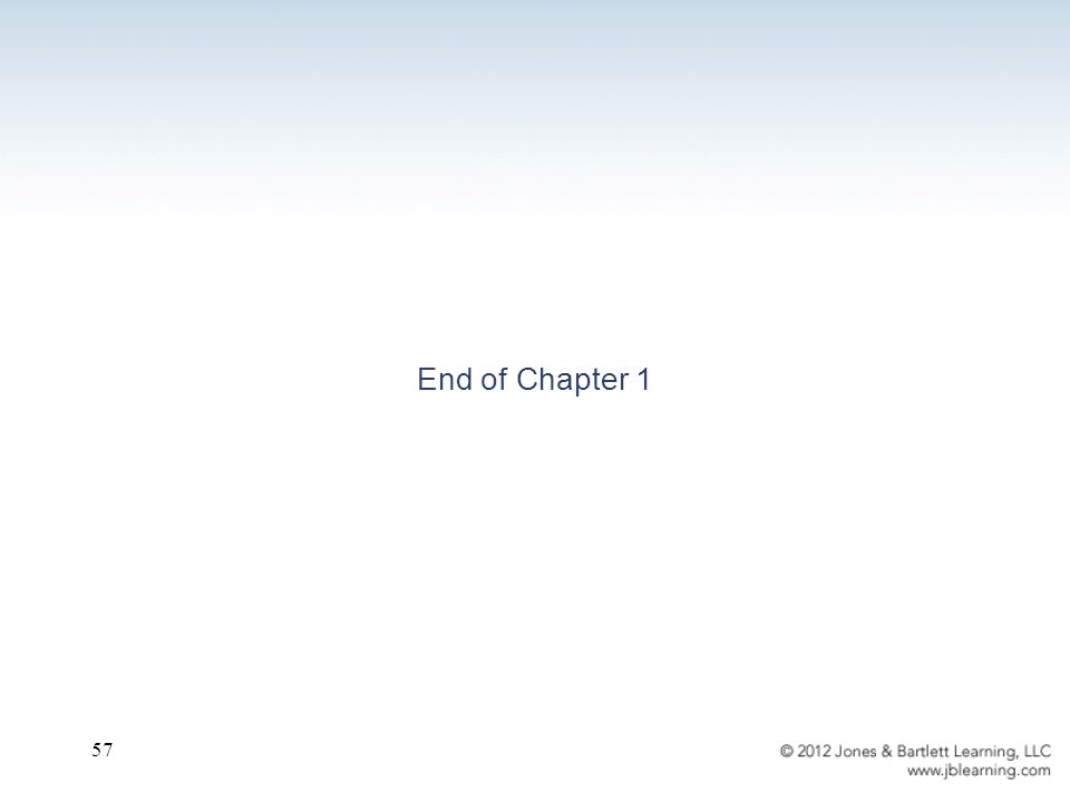 57 End of Chapter 1
