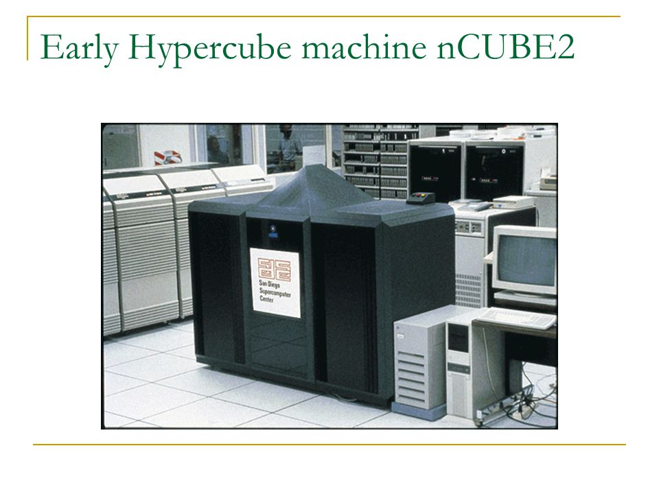 Early Hypercube machine nCUBE2
