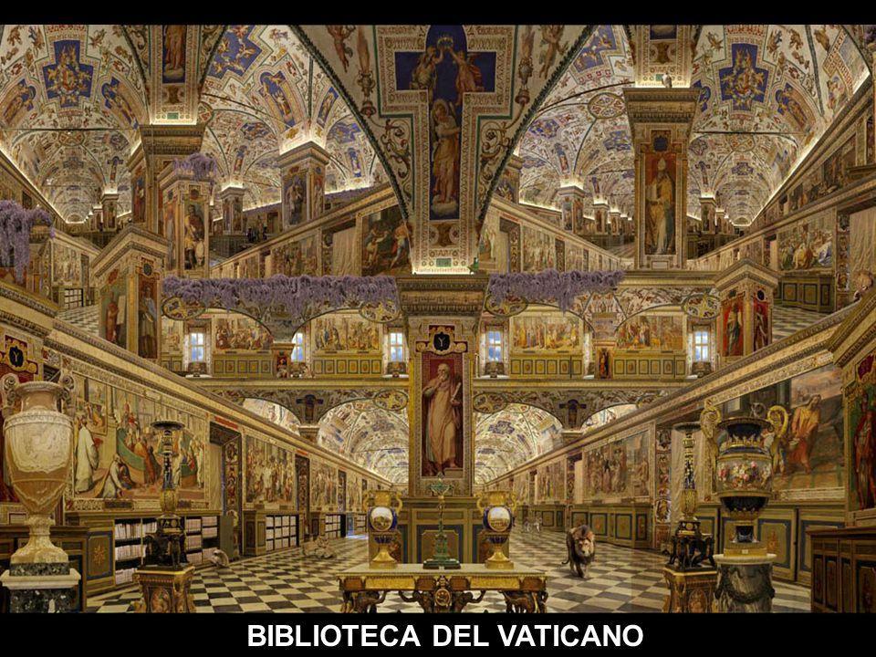 M M BIBLIOTECA VATICANO-SALON SIXTINO