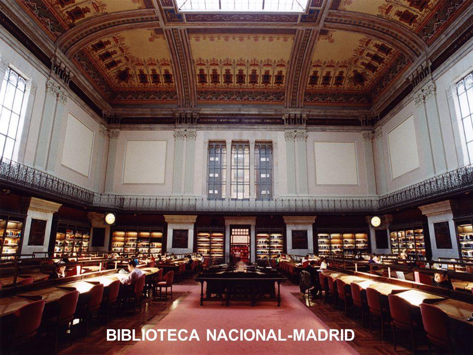 BIBLIOTECA NACIONAL-MADRID