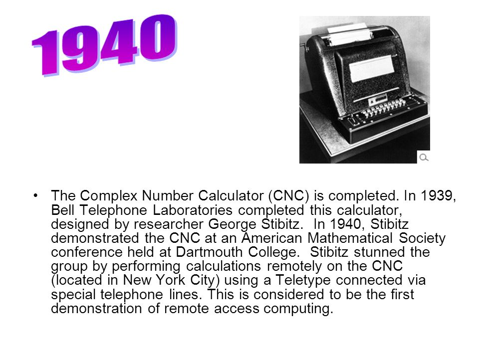 The Complex Number Calculator (CNC) is completed.
