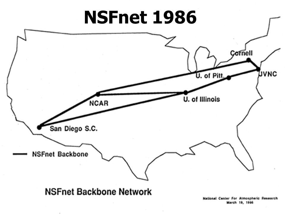 10/09/03 1 NSFnet 1986