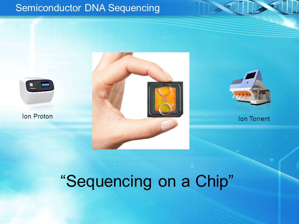 Semiconductor Sequencing in a Nutshell It's a computational pH meter