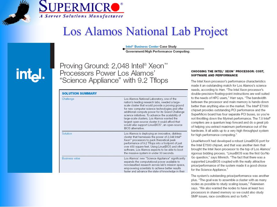 Los Alamos National Lab Project