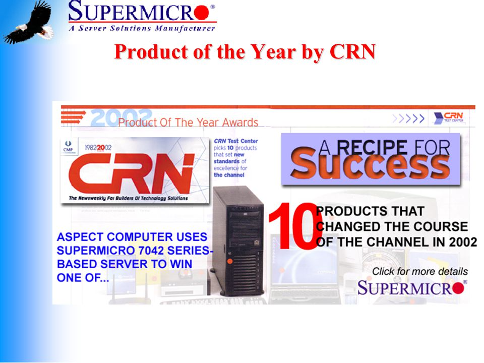 Product of the Year by CRN