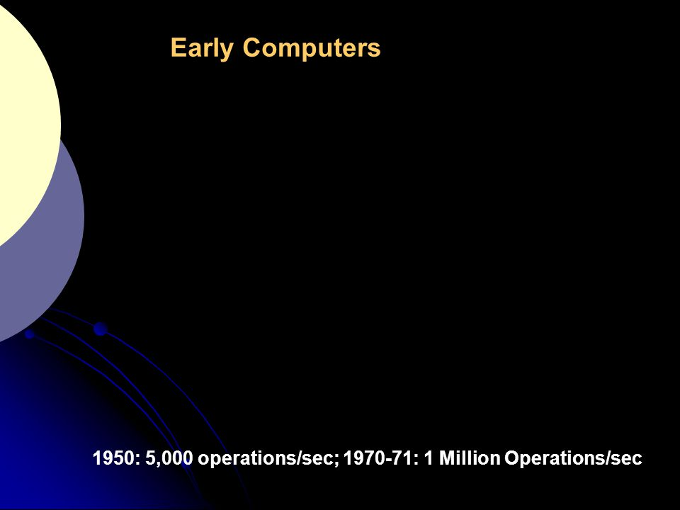 7 1974 - 1 MHz clock 1988 – 40 MHz 2002 – 2 GHz 2009 – P4 3.0 GHz, Quadcore 2.66 MHz Intel Montecito chip 1.72 Billion transistors NVidia 280 series GPU 1.4 Billion transistors -Circuit complexity doubles every 18 months  Computing power at a given cost doubles every 18 months - Processor clock rates: 40% increase/year + more instr./cycle - DRAM Access Times: 10% increase/year  caches required Advances in Microprocessor Technology