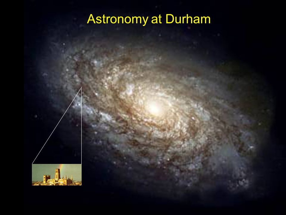 Astronomy at Durham