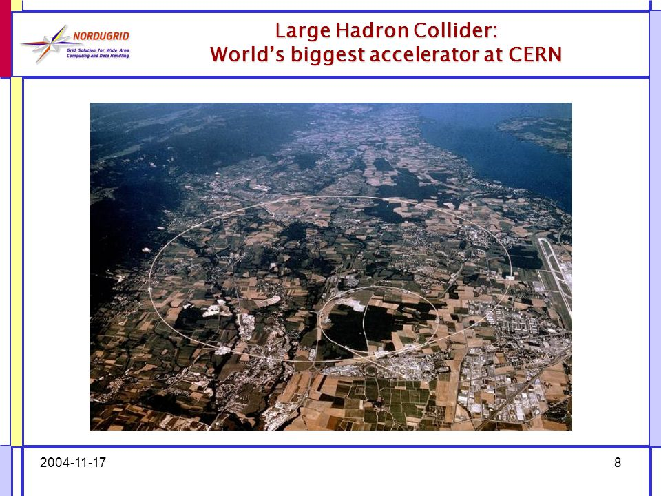 2004-11-178 Large Hadron Collider: World's biggest accelerator at CERN