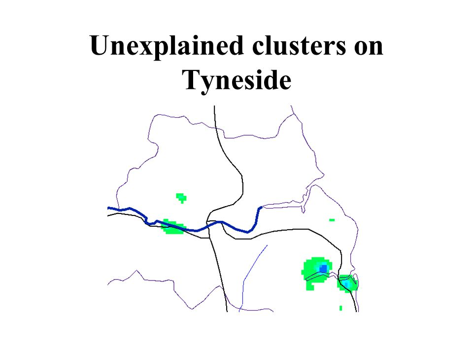Unexplained clusters on Tyneside