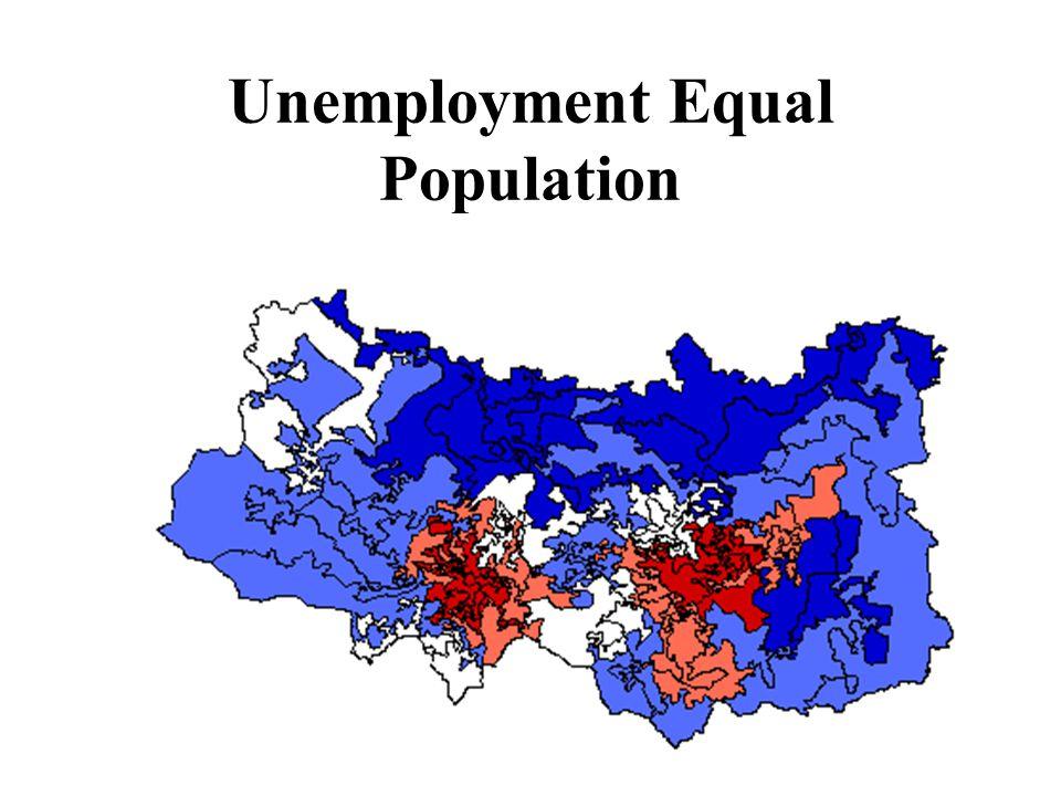 Unemployment Equal Population