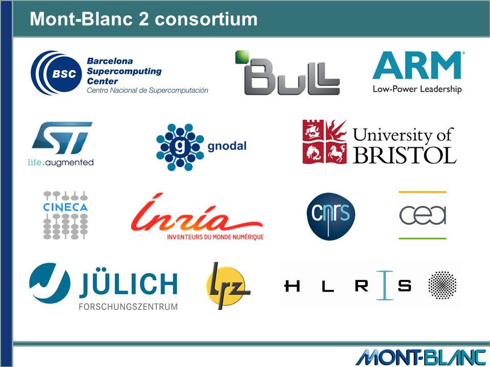 Mont-Blanc 2 consortium