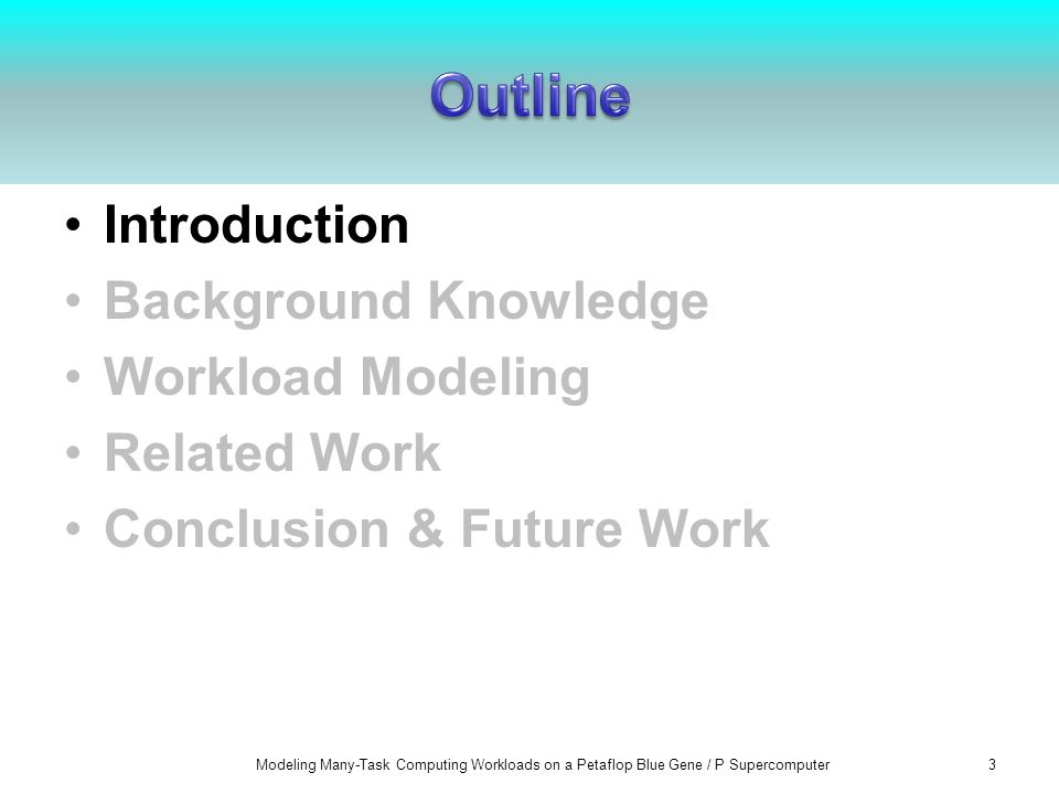 Workload analysis is important to evaluate the performance of large- scale distributed computer systems and software (e.g.