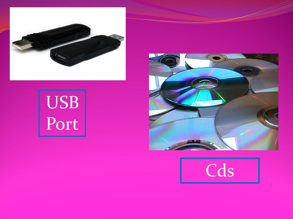 USB Port Cds