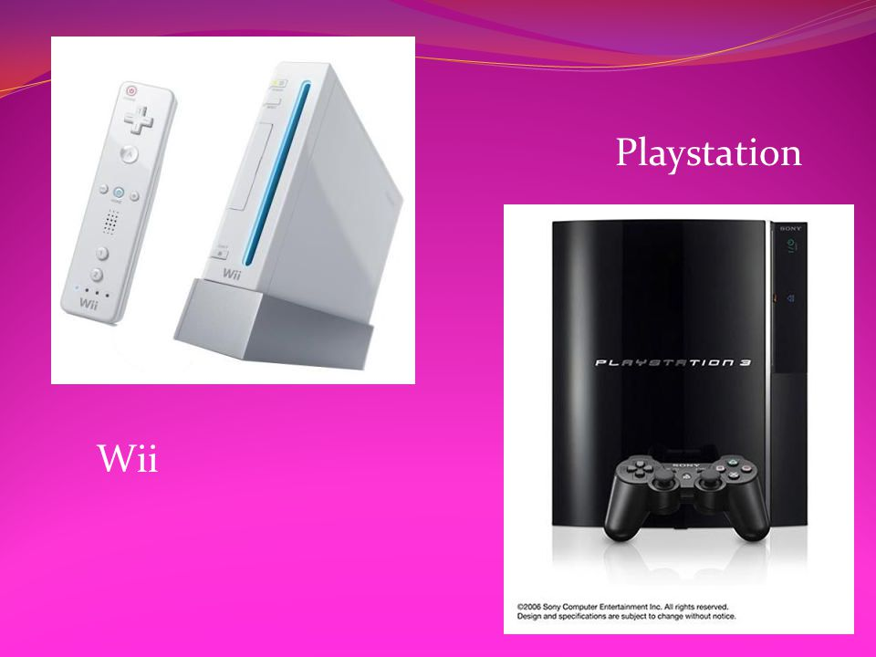 Wii Playstation