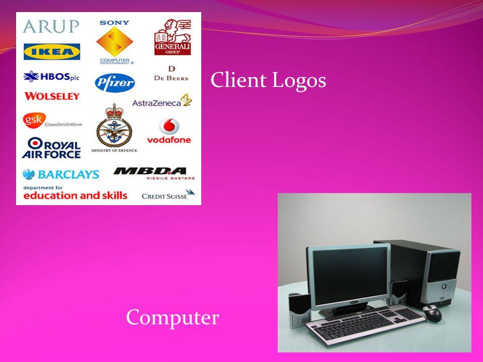 Client Logos Computer