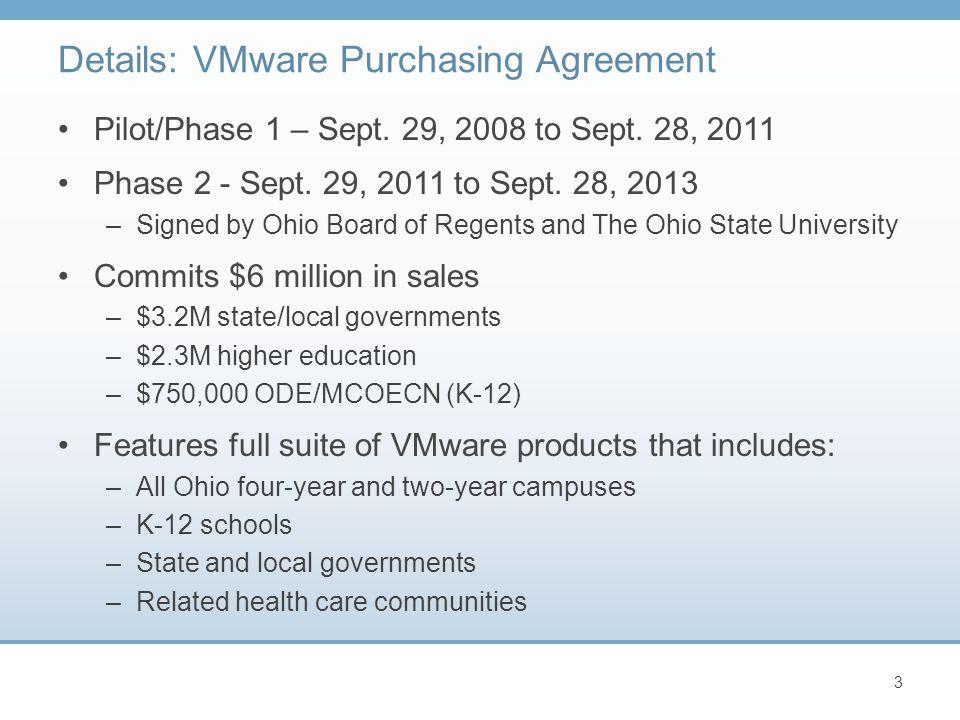 Pilot/Phase 1 – Sept. 29, 2008 to Sept. 28, 2011 Phase 2 - Sept.