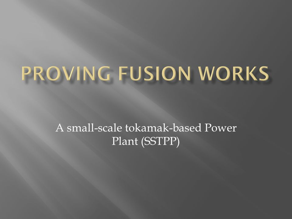 A small-scale tokamak-based Power Plant (SSTPP)