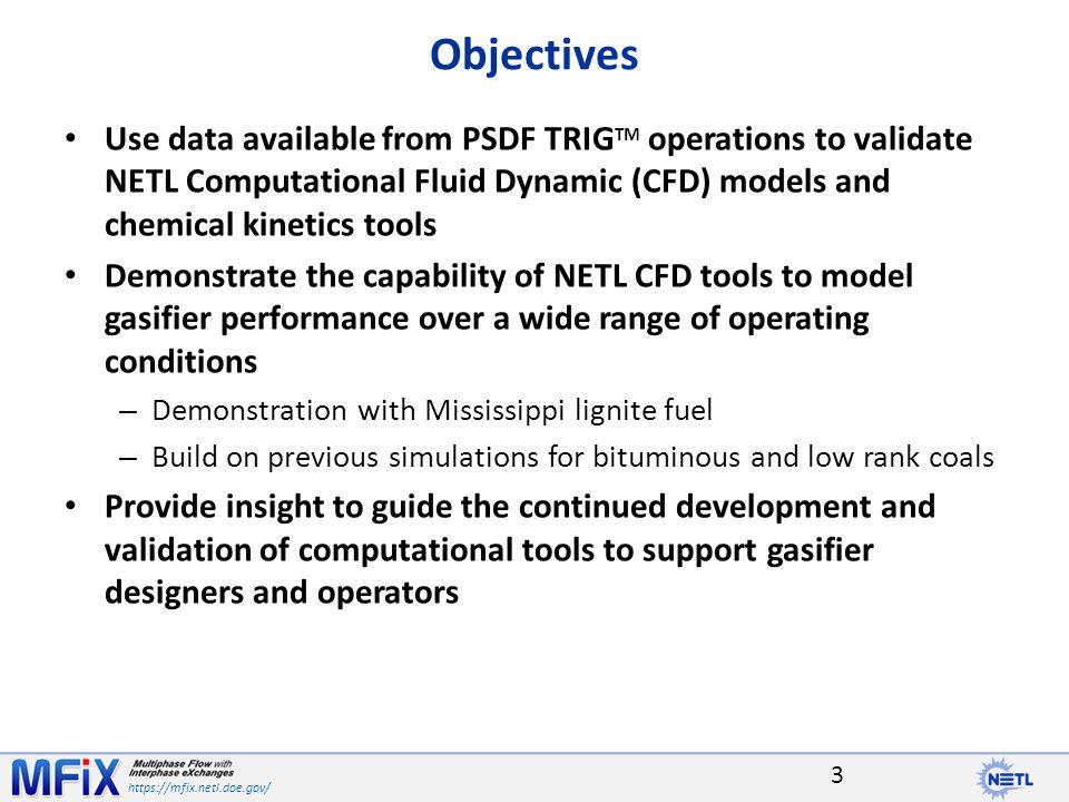 https://mfix.netl.doe.gov/ Power Systems Development Facility Power Systems Development Facility (PSDF) – Test center sponsored by the U.S.