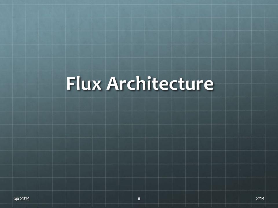 Flux Architecture 2/14cja 20148