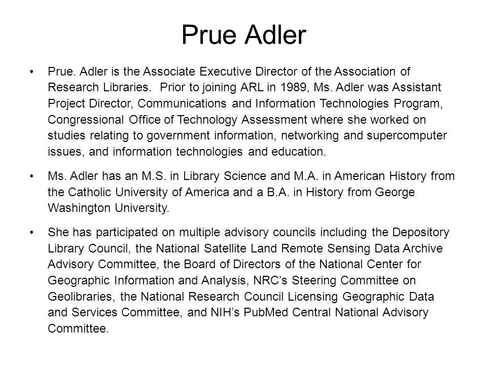 Prue Adler Prue.