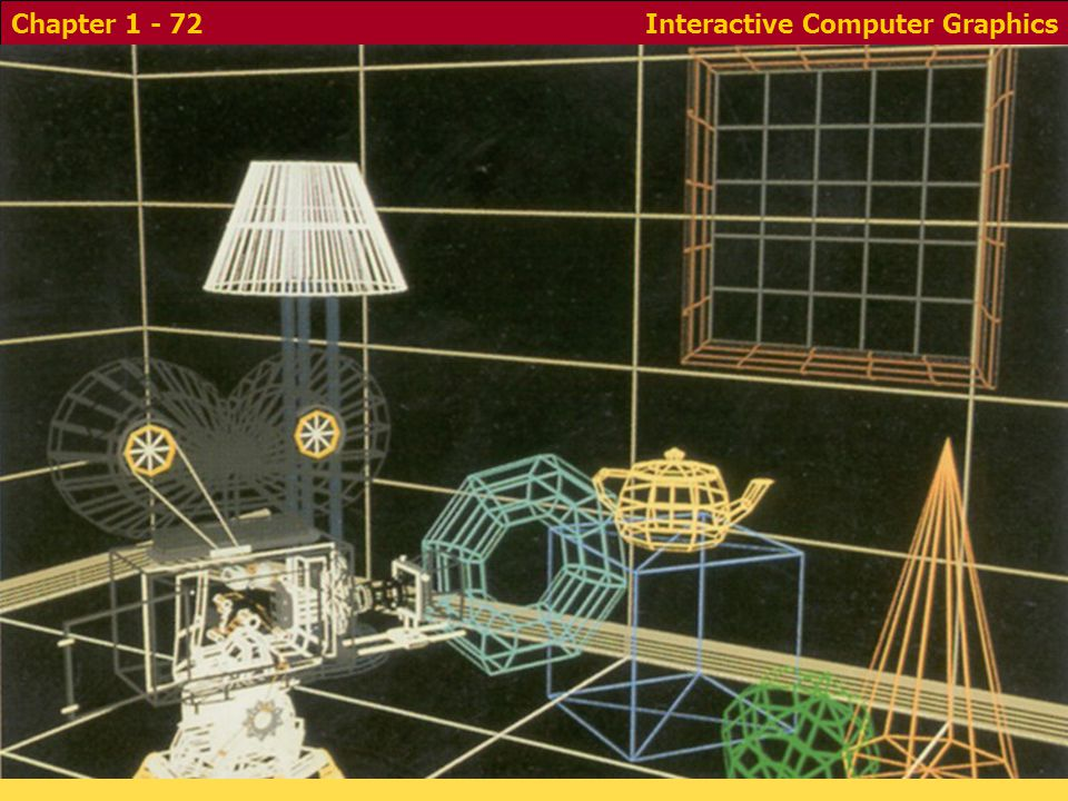 Interactive Computer GraphicsChapter 1 - 72 - Colored Edges