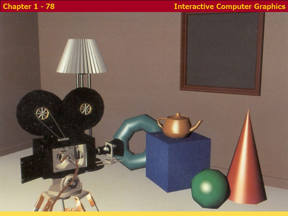 Interactive Computer GraphicsChapter 1 - 78 - Gouraud/phong