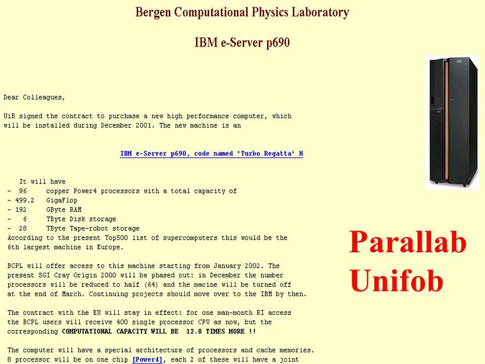 BCPL Presentation -Csernai4 Parallab Unifob