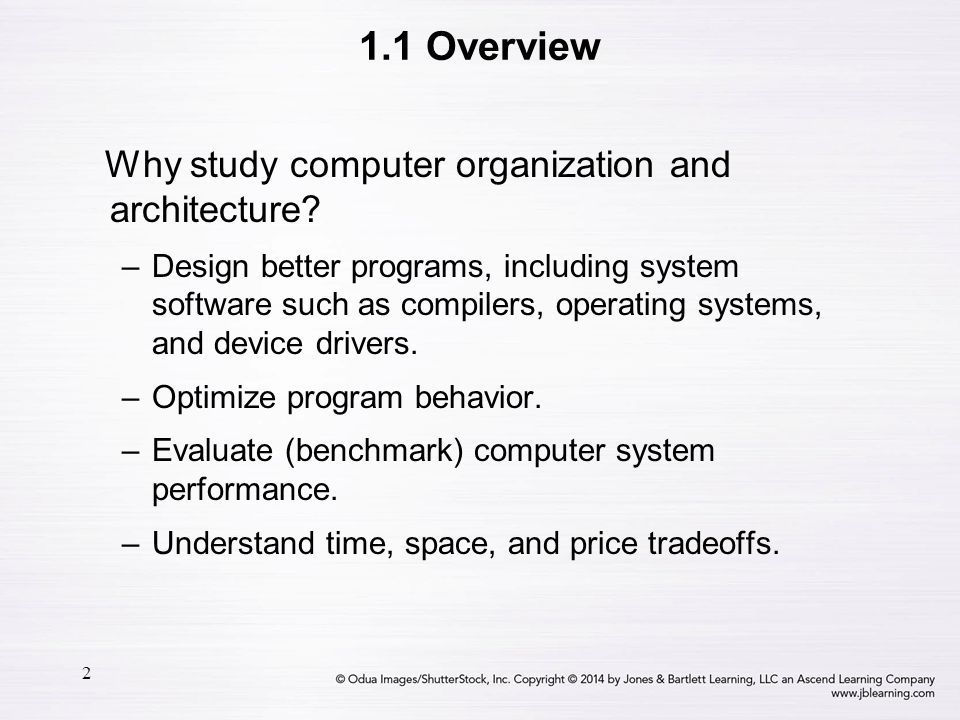 13 1.3 An Example System Computers with large main memory capacity can run larger programs with greater speed than computers having small memories.