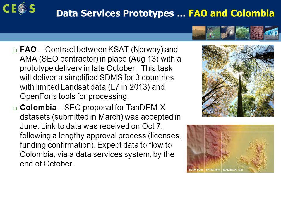 8 Data Services Prototypes...
