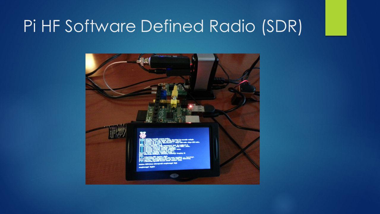 Pi HF Software Defined Radio (SDR)