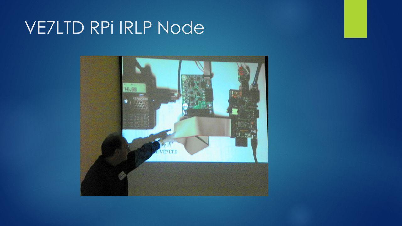 VE7LTD RPi IRLP Node