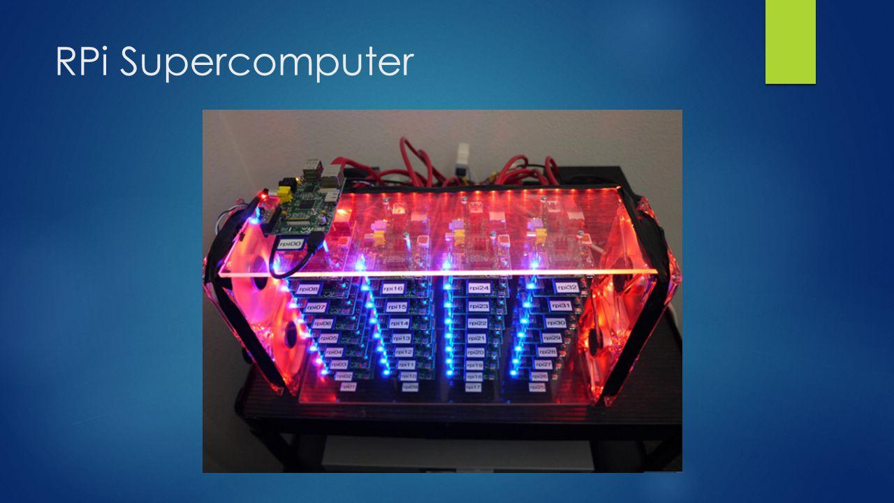 RPi Supercomputer
