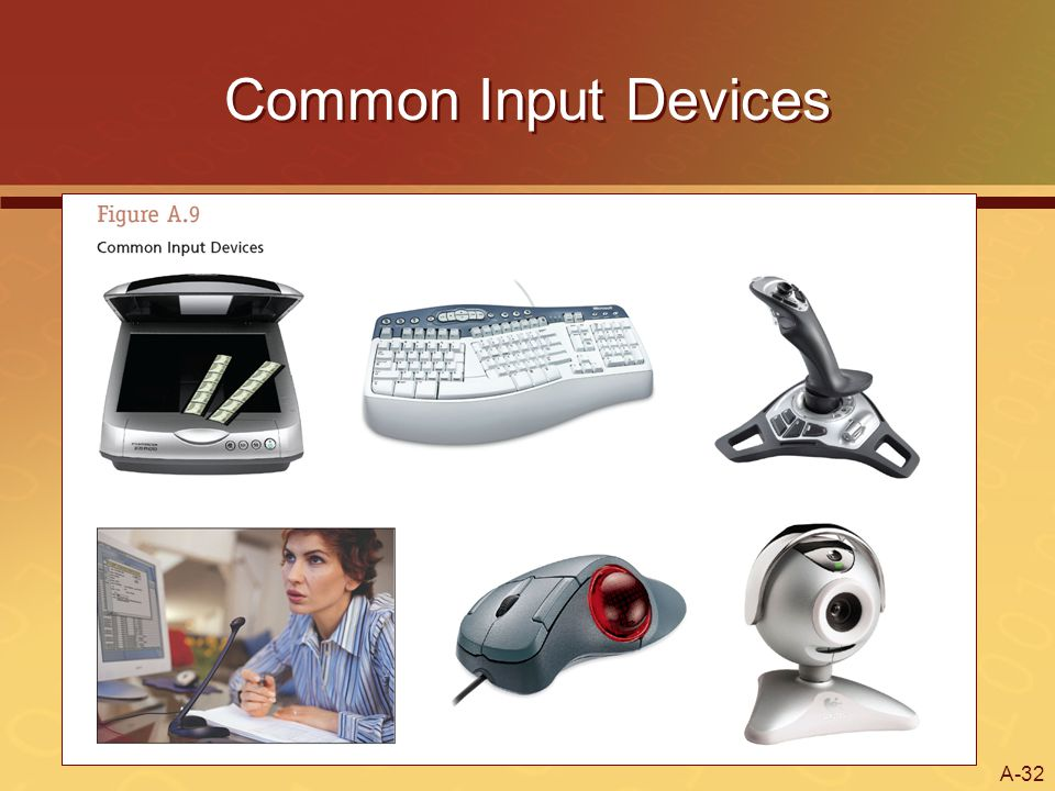A-32 Common Input Devices