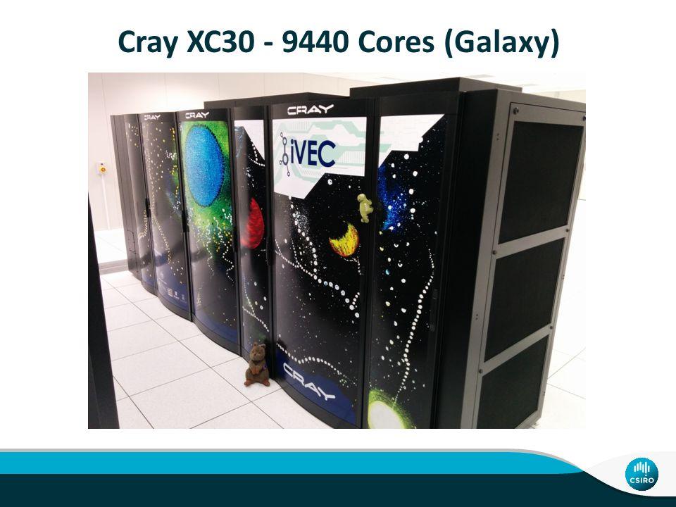 Cray XC30 - 9440 Cores (Galaxy)