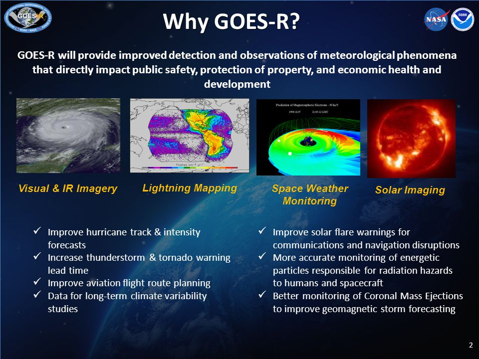 Why GOES-R.