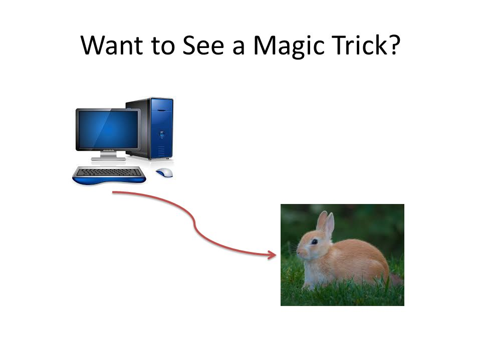 Want to See a Magic Trick
