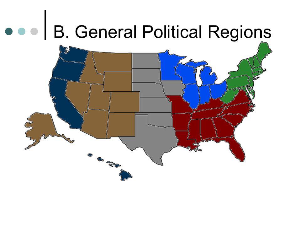 B. General Political Regions