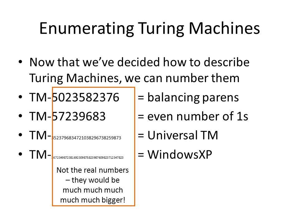 Halting Problem Pythonic Halting ProblemTM Halting Problem Input: a string describing a Turing Machine, M Output: if M would eventually Halt, output True; otherwise, output False.