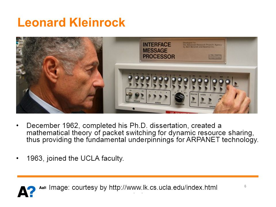 Leonard Kleinrock January 1957, began as a graduate student in Electrical Engineering at Massachusetts Institute of Technology (MIT).