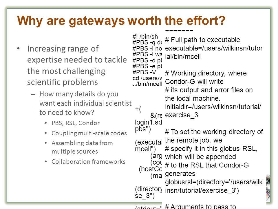 Why are gateways worth the effort.